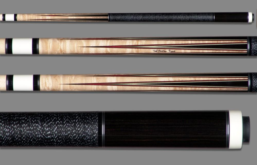 Ted Harris Custom 6-point cue