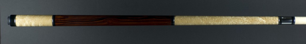 Merry widow stainless birds eye cocobolo handle